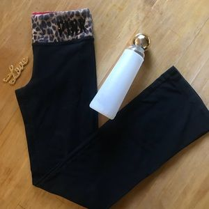 Victoria's Secret Pink Full Length Yoga Pants